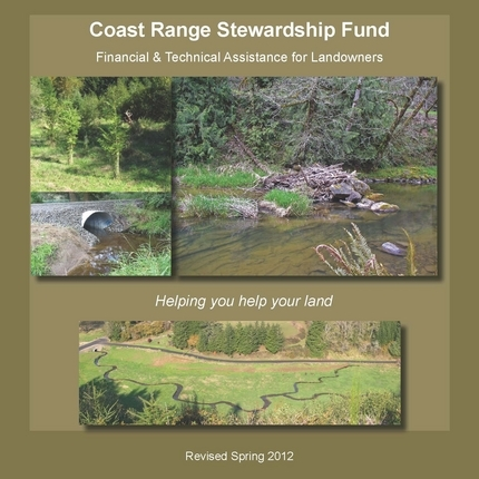 The Coast Range Stewardship Fund Brochure